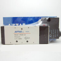 "4V410-15 12VDC  1/2"" Air Pneumatic Solenoid Valve 2 position 5 way Airtac"
