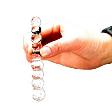 Crystal Glass Dildo Anal Beads Male Penis Dick, Prostate Massage Anal Butt Plug