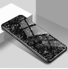 iPhone X Luxury Tempered Glass Back Case. Shockproof Protective Phone Cover