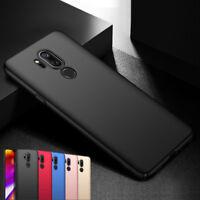 For LG G7 G4 G5 G6 K8 V20 Slim Matte Shockproof Hard PC Protect Back Case Cover