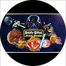 Tortenaufleger Angry Birds Star Wars  DVD NEU Dekoration Tortenbild  Buch Spiel