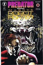 Predator vs Magnus Robot Fighter #1 (Nov 1992, Valiant Comics, Dark Horse) *NM.