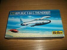 Heller - Republic F - 84 G Thunderjet  - Bausatz  1:72