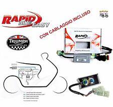 CENTRALINA MOTO RAPID BIKE EASY CON CABLAGGIO TRIUMPH TIGER 800 XC ABS 2012 2013