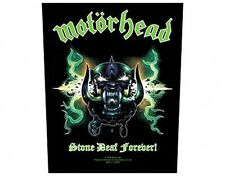 MOTORHEAD stone deaf forever 2004 GIANT BACK PATCH - 36 x 29 cms LEMMY