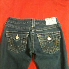 True Religion Joey Dark Wash Jeans Size 24x31 GUC