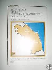 MARCHE 1° Convegno beni culturali ambientali NUMANA '81