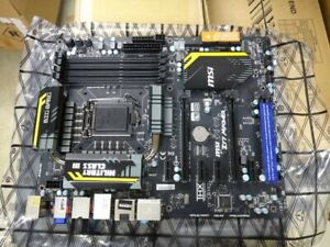 VENDS CARTE MERE ATX MSI Z77 MPOWER Socket 1155 Intel DDR3 COMPLETE !!