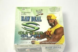 WWE Raw Deal Summer Slam Expansion Sealed Booster Box