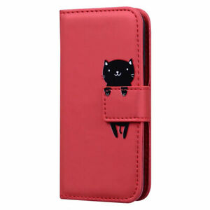 Animal Leather Wallet Flip Stand Case Cover For Huawei P40 Pro P30 Pro Nova 5T
