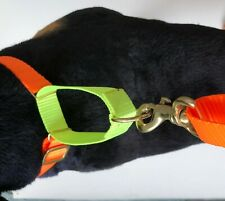 MARTINGALE DOG COLLAR & LEAD SET, HANDS FREE ADJUSTABLE LEAD & ADJUSTABLE COLLAR