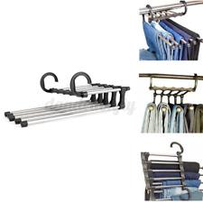 5 In 1 Flexible Pant Clothes Stand Rack Hanger Towel Hangers Closet Organizer