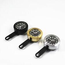 Universal Gold Mount Clock Waterproof For Harley V-Rod Rocker C SX125 Motorcycle