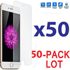 50x Wholesale Lot Tempered Glass Screen Protector for Apple iPhone 6 Plus