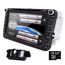 """8"""" Car DVD Player GPS Navigation For Volkswagen VW 2007-2015 Passat Jetta+Map"""