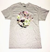 Star Wars - Death Star Made of Flowers - Men's Small Grey T-Shirt