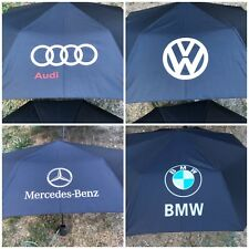 Parapluie audi mercedes volkswagen vw bmw noir ou bleu foncé