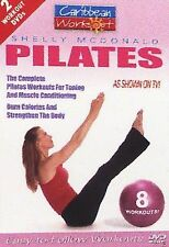 Caribbean Workout Shelly Mcdonald Pilates 2 Workout DVDs Made 2004 New Sealed