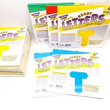 "(31) Trend Ready Letters 4"" Casual (1) T-457, (2) T-458, (2) T-459 & (26) T-464"