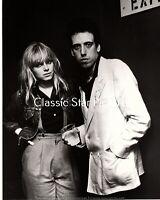 S704 Ellen Foley Mick Jones of Clash 8 x 10 photograph