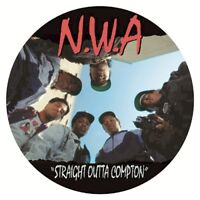 Straight Outta Compton by N.W.A  [Picture Disc] (LP)
