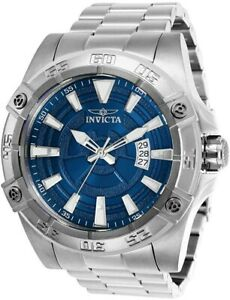 Invicta Pro Diver Automatic Blue Dial Stainless Steel Men's Watch (Model: 27015)