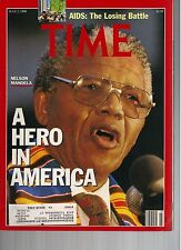 TIME magazine July 2 1990 NELSON MANDELA A Hero in America