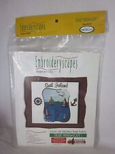 Amazing Designs Embroideryscapes Sea Scape Kit Multi-format Embroidery Disk
