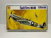 Vintage OTAKI SPITFIRE MK.VIII, 1/48 Aircraft Model Kit No. OT2-9156-400 AD