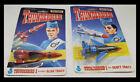 VINTAGE 80'S MATCHBOX THUNDERBIRD 1 AND THUNDERBIRD 3 Alan & Scott Tracy Rockets