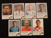 7 x Bayern Munich Rafo World Cup Brazil 2014 football stickers