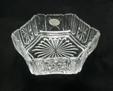 Avon Fostoria Exclusive Design Crystal Pool Floral Medley Floating Candle Bowl
