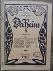 Jugendstil Zeitschrift Daheim, Nr. 23 von 1909 Berlin, Roman, Karl Hagenbeck