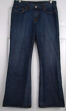 """Womens Sz 10 / 30 LUCKY BRAND DUNGAREES """"Sweet 'N Low"""" Flare Leg Blue Jeans EUC"""