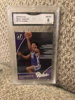Marvin Bagley The Rookies 2018 Donruss Graded 8 Sacramento Kings