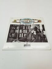 CONRAD AIKEN READING 33RPM LP RECORD POEMS YALE SERIES DECCA RECORDS POETRY