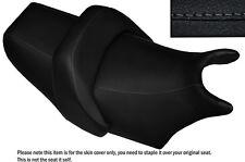 DESIGN 2 GREY STITCH CUSTOM FITS YAMAHA V MAX 1200 FRONT + REAR SEAT COVERS