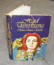 Chelsea Quinn Yarbro - Hotel Transylvania - HB/DJ 1978 - Saint Germain Vampire