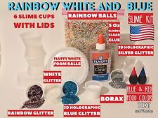 Elmer's School Glue, Clear, Washable, 5 Ounces Slime Kit