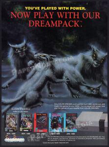 COLOR DREAMS_/_NINTENDO__Orig. 1989 Trade print AD / game promo__Captain Cosmic