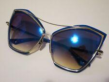 DITA CREATURE 22035C Cat Eye Blue Silver Mirror Glasses Eyewear Sunglasses Shade
