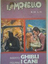 IL MONELLO ANNO 1971 N° 43 FIGURINE