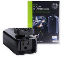 GE Jasco Z-Wave Plus Smart Lighting & Appliance Control Outdoor Module 14284
