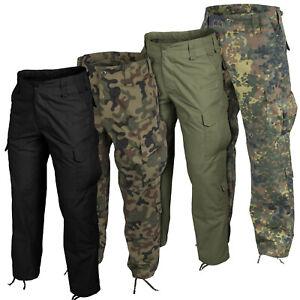 Military Pants Helikon Tex Trousers CPU Genuine Combat Cargo Black Polish Army