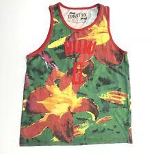 Miami Heat Mens Xl Number 6 Floral Tank Top LeBron James Number
