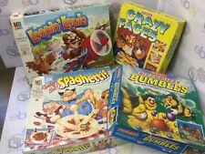 Bundle of Kids board games Vintage Retro Spaghetti Loopin Louie Bizzy Bumbles
