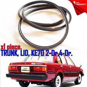 For Toyota Corolla KE70 Sedan KE70 2D 4D Weatherstrip Trunk Lid Rubber Seal