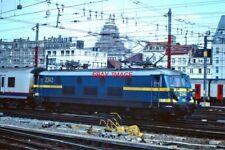 PHOTO  BELGIAN RAILWAYS -   SNCB/NMBS ATELIERS METALLURGIQUES CLASS 23 NO 2342