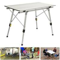 3FT Outdoor portable outdoor folding camping aluminum table camping picnic UK