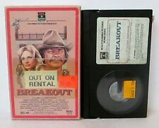 BREAKOUT BETA BETAMAX VIDEO CASSETTE TAPE, Charles Bronson